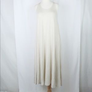 Lou & Grey beige / tan maxi tank dress